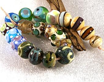 Lampwork  Art Beads by Jeanniesbeads #653