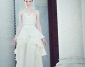 Peplum Wedding Gown - Belinda Size 4--Sample Sale