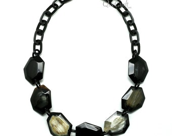 Horn Chain Necklace - Q11737