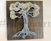 Love locks tree - Family tree - Tree of life - Personalized  Wedding- Gift for couple FOR L. KOTSONIS  by eileenaart