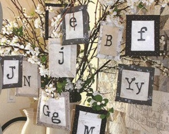 SALE - Typeset Ornaments - By Crabapple Hill (427) - 3.50 Dollars