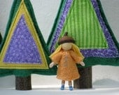 Acorn Cap Doll-- your choice of one little woodland doll