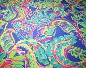 Lilly Pulitzer~ Dobby Cotton Fabric~ TOUCAN PLAY~2015
