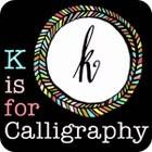 KisforCalligraphy