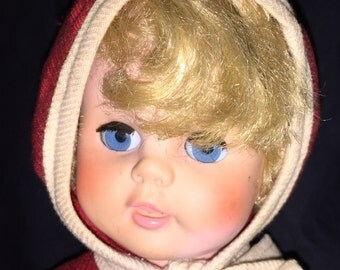 Vintage 50's-60's Doll