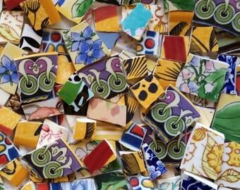 Mosaic Tiles--Potpourri Blend -No.3-- 100 tiles