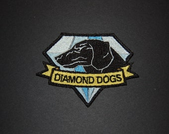 Diamond Dog Metal Gear Solid Iron On Patch