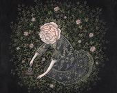 Rose Digger - Print