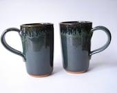 Latte Mugs 16 oz. Set of 2