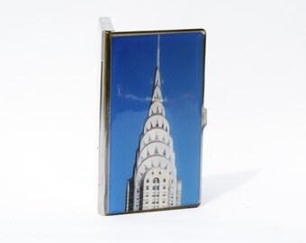 CARD CASE - Card Holder - Cardcase - Credit Card Holder- Groomsmen Gift- NYC Card Case - Corporate Gift- Coworker Gift- New York Gift-