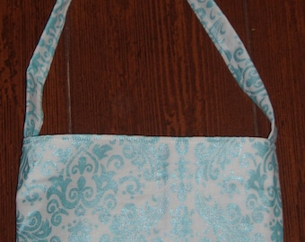 Aqua Hollywood Sparkle toddler purse