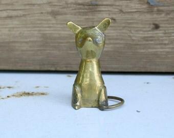 CLEARANCE Mr. Mouse. Vintage Brass Figurine