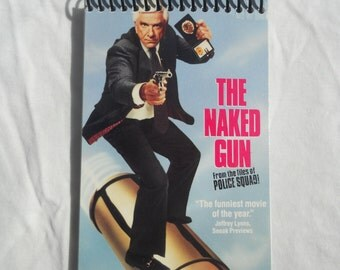 The Naked Gun VHS Cover Notepad