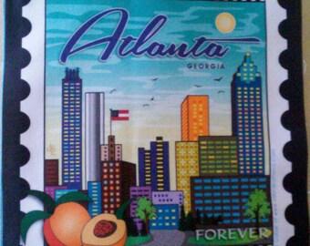 Atlanta, GA Fabric Stamp