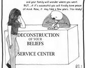 Deconstruction Service Center Fine Art REPRODUCTION print