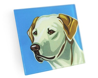 Set of 4 Labrador Coasters