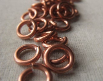 Copper Jump Ring 10mm Open Ring Connector Item No. 9415