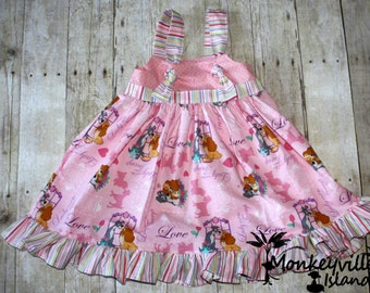 Puppy Love Knot Dress Size 2