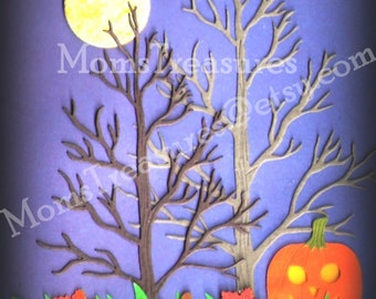 """ACEO """"Autumn Moon """" Print LIMITED EDITION of 25"""