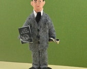 C.S. Lewis Doll Miniature Author and Writer Classic Literature