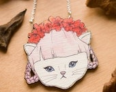 Georgina Kitten Necklace