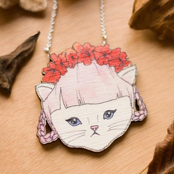 Georgina Kitten Necklace
