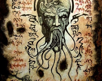 Cthulhu larp BLACK LOTUS VISIONS Necronomicon demons occult horror