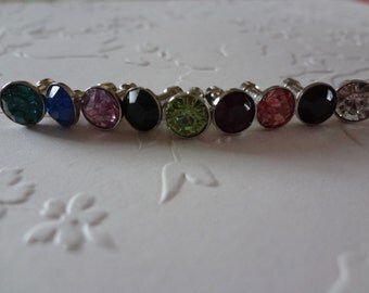 Anti Dust Plugs - Metal - Rhinestones - See Listing For Available Colors