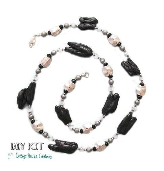 Biwa Pearl Jewelry Making Supplies Bead Diy Kit Instructions