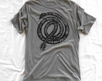 Guitar Snake - men's crew neck