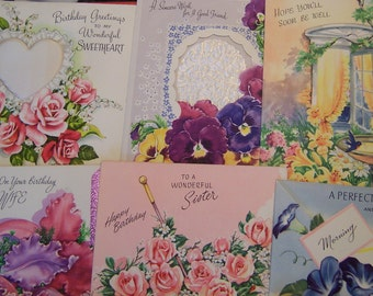 lovely birthday and get well cards