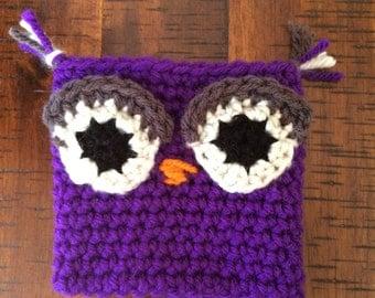 Owl Coffee Cup Cozy