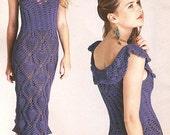 PDF pattern only - elegant spring / summer dress