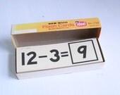 Vintage flash cards subtraction entire box