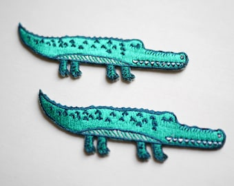 Crocodile Iron On Patch