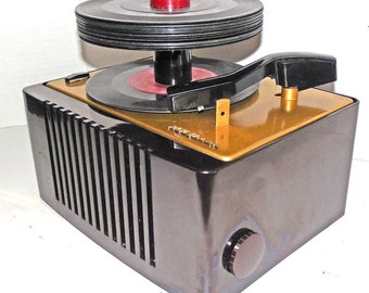 1950s  RCA  Record Player restored with Warranty