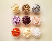 Eco Confetti for Wedding Confetti Bar or Balloons - Pure White, Blush Pink, Lavender, Eggplant, Pumpkin, Champagne, Gold, Dark Gold, Silver