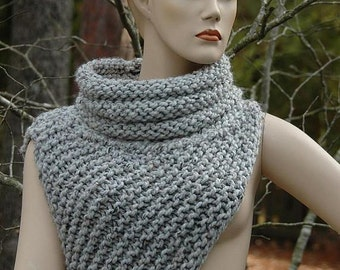 Knitting Pattern - Katniss Cowl Huntress Vest