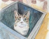 Custom Pet Portrait - Cat