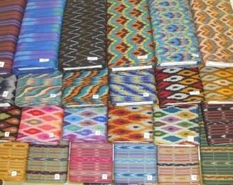Homespun IKAT (KASURI) woven 100% cotton fabric pre-dyed threads 1 yd