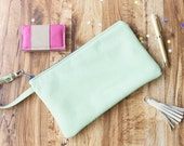 Large Leather Clutch, Oversized Ladies Clutch, Green Leather Bag, Leather Evening Bag,Real Leather Bag, Clutch Bags for Weddings,