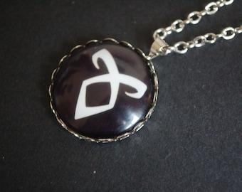 The mortal instruments shadow hunter symbol necklace