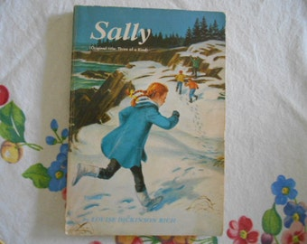 RARE 1970 Sally Original title: Three of a Kind Scholastic Book by Louise Dickinson Rich TX1864