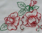 Sew Pretty Pillowcases - Pretty Red Roses - Set of 2