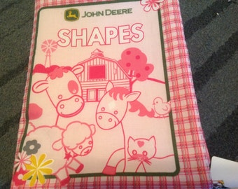 John Deere Shapes Fabric Book