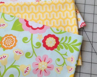 Half Yard Bundle from The SImply Sweet Collection by Lori Whitlock for Riley Blake Fabrics  - 1.5 yards total - on sale