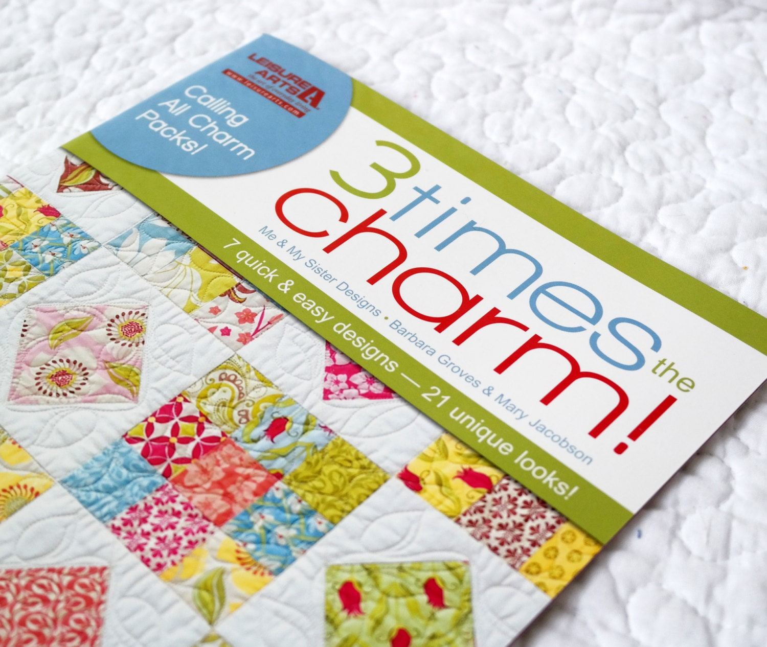 cyber week deal three 3 times the charm quilt pattern
