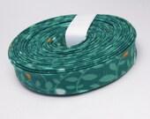 Double Fold Bias Tape - Les Amies Turquoise - 3 Yard Bundle