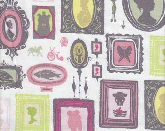 Blend Fabrics Cushion & Dust Gallery in White - Half Yard