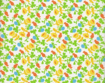 Windham Fabrics Briar Rose Calico in Blue- Half Yard